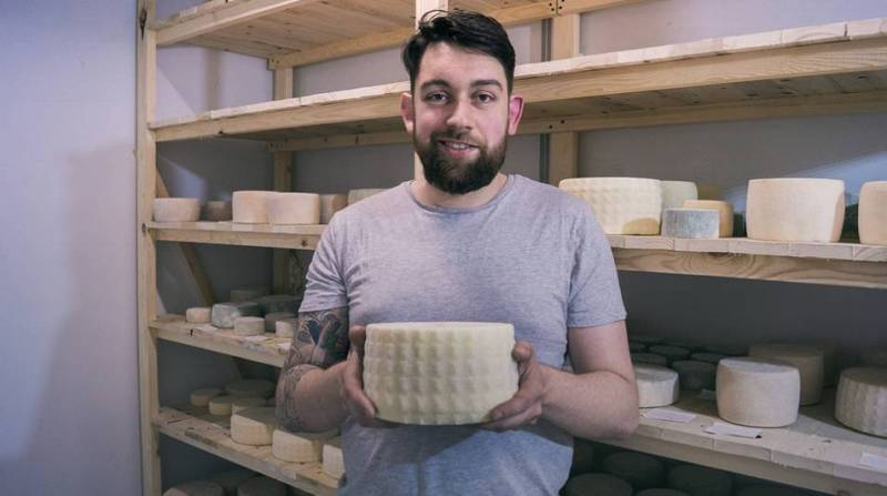сформированный сыр
