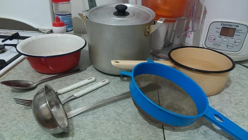инструменты для приготовления сыра