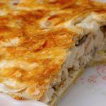 Греческая Котопита с сыром