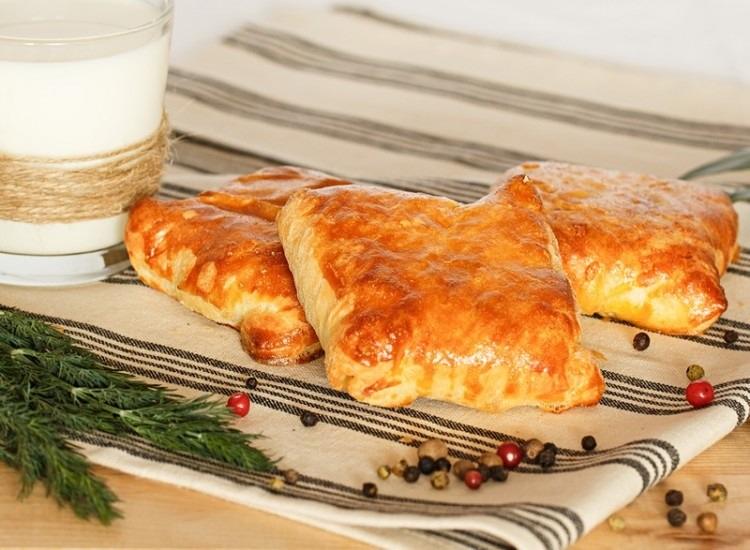Сырно-картофельные слойки