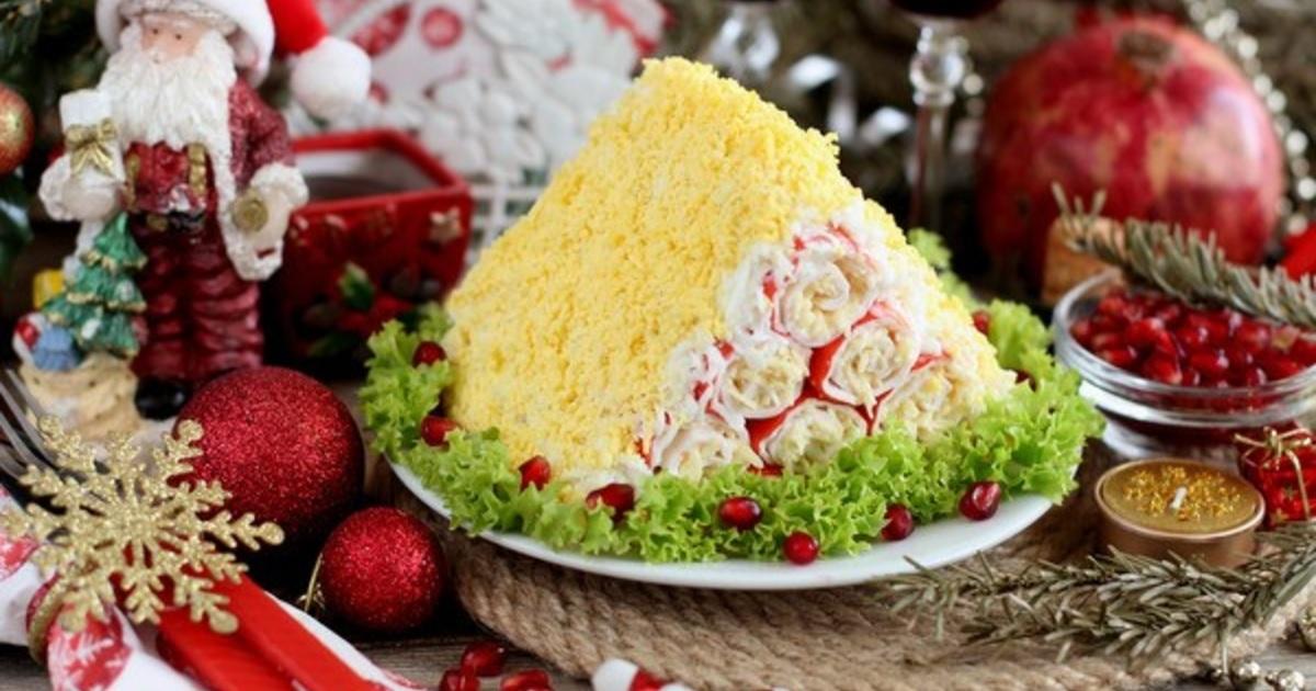 Сырный салат «Монастырская изба»