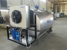 охлаждение молока для производства сыра