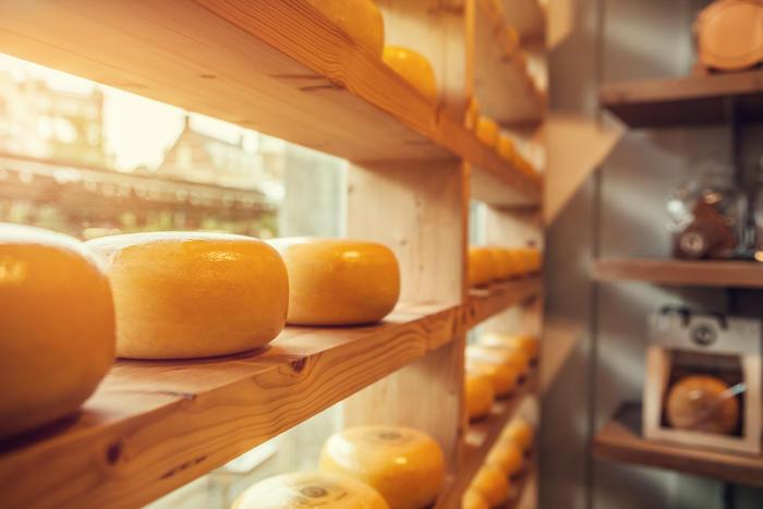 процесс созревания сыра