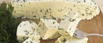пикантный сыр с укропом